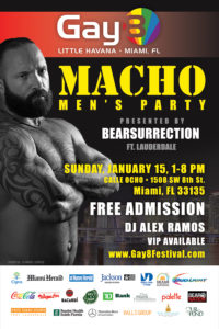 Gay8 Festival Macho Party by Bearsurrection
